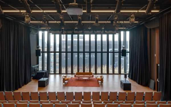 Theater - Zicht op het podium